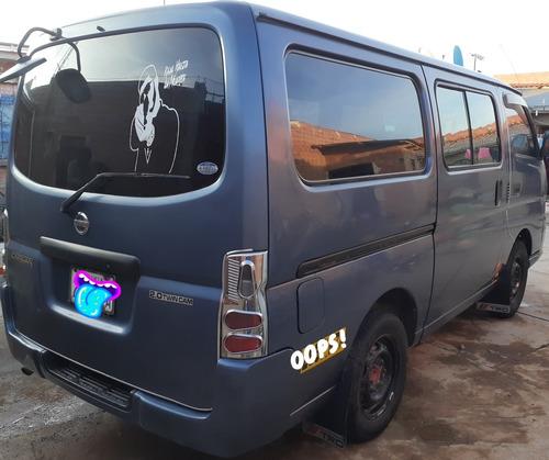 nissan caravan mod 2006 caja mecánica original