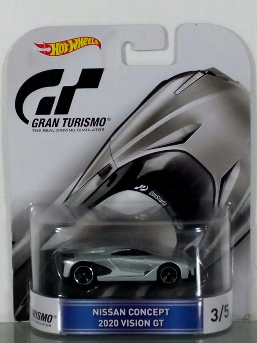Hot Wheels Gran Turismo Nissan Concept 2020 Vision GT