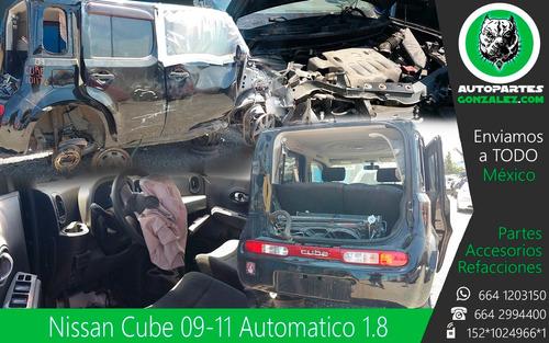 nissan cube 07-10 1.8 autopartes repuestos refacciones yonke