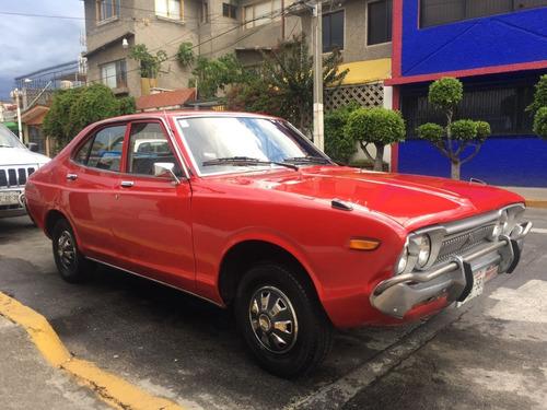 nissan datsun rojo 1976    vendido