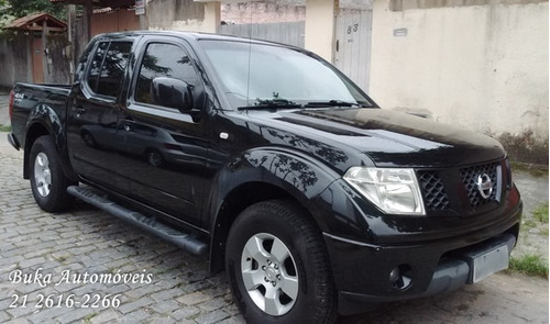 nissan frontier 2010/10 xe 2.5 diesel 4x4 - completa + rodas