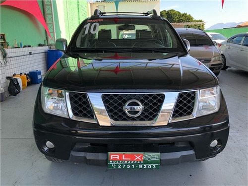 nissan frontier 2.5 le 4x4 cd turbo eletronic diesel 4p manu