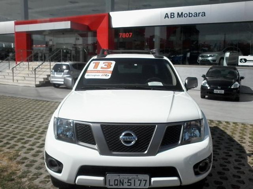 nissan frontier 2.5 se attack 4x2 cd turbo eletronic diesel
