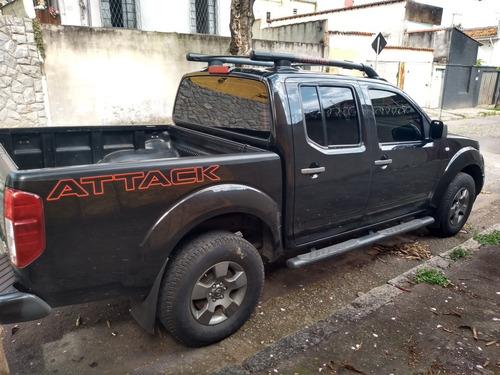 nissan frontier 2.5 se attack cab. dupla 4x4 4p 2012
