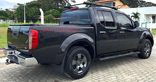 nissan frontier 2.5 se attack cab. dupla 4x4 4p