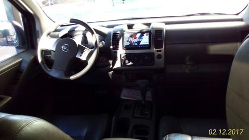 nissan frontier 2.5 sel cab. dupla 4x4 aut. 4p