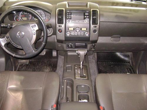 nissan frontier 2.5 sl cab. dupla 4x4 aut. 4p 5490
