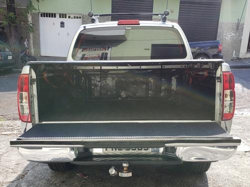 nissan frontier 2.5 sl cab. dupla 4x4 aut. 4p