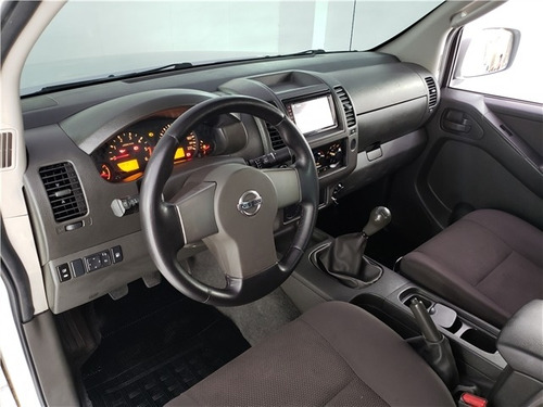 nissan frontier 2.5 xe 4x2 cd turbo eletronic diesel 4p manu