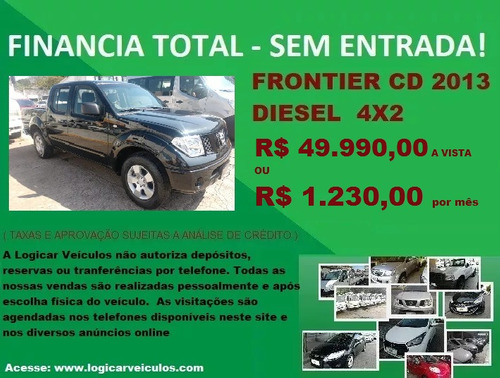 nissan frontier cd 4x2 diesel 2013 bom preço!!!