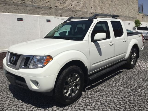 nissan frontier frontier pro4x 5at 4x4 2017 seminuevos