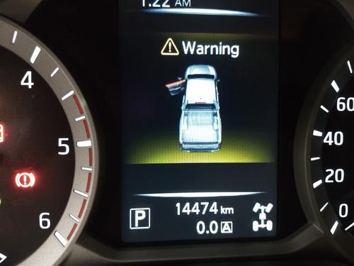 nissan frontier se 2018 laranja 2.3 die autom top couro 14km