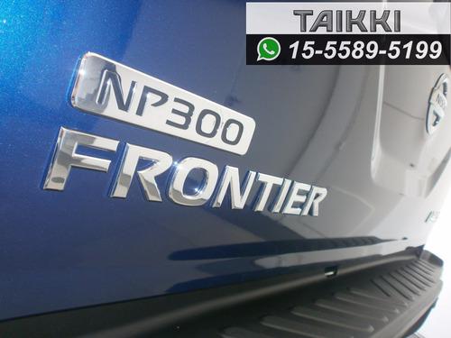 nissan frontier se 4x2 ant $320.300 o tu auto usado y ctas