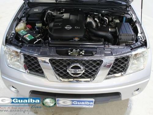 nissan frontier xe 4x2 cabine dupla 2.5 turbo eletr..aso5918