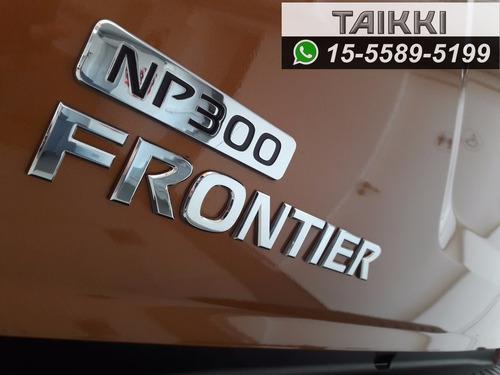 nissan frontier  xe 4x4 mt 0km - entrega inmediata