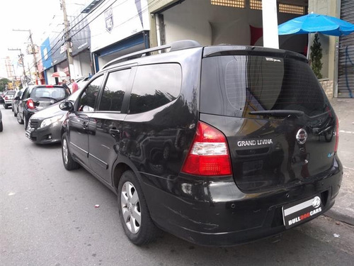 nissan grand livina 1.8 sl 16v flex 4p automático 2012/2012