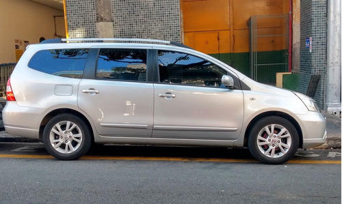 nissan grand livina 2012/2013  1.8 sl aut.  flex 7 lugares.