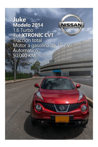 nissan juke 1.6 turbo automático 4x4