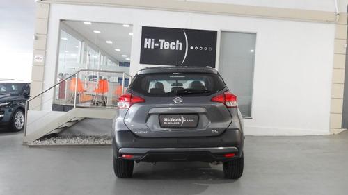 nissan kicks 1.6 sl aut blindado nível 3 a 2018