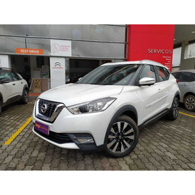 Nissan Kicks 1.6sl Cvt 16/17 Flex Int Black  Cvt / Pm
