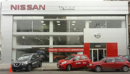 nissan kicks advance mt 0km anticipo y cuotas - taikki autos