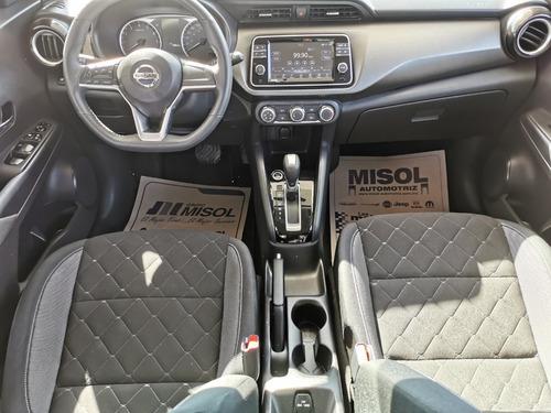 nissan kicks midnight cvt, modelo 2018, motor 1.6 lts 4 cil