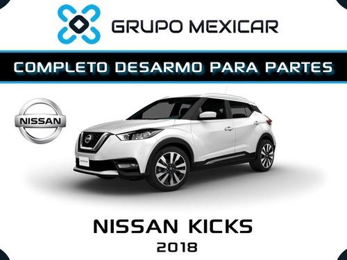 nissan kicks partes desarmo autopartes piezas kicks 2018