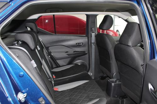 nissan kicks sense motor 1.6  modelo 2020 azul 5 puertas