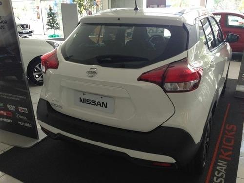 nissan kicks sv 1.6 autom. completo 0km 17/18 sem placas