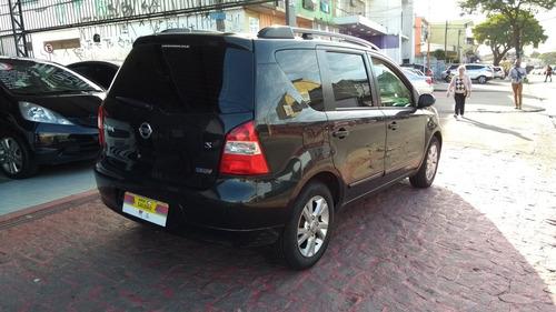 nissan livina 1.6 aut. 7l  5p 2012 zero de entrada