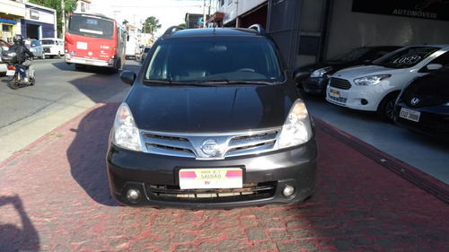 nissan livina 1.6 flex 5p 2012 7 lugares vilage automoveis