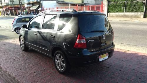 nissan livina 1.6  flex fuel 5p 2013 zero de entrada