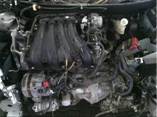 nissan livina 1.8 s 2010 automática sucata p peças  motor