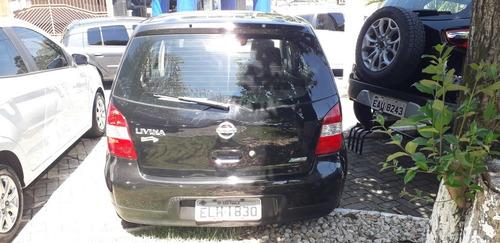 nissan livina 1.8 s flex aut. 2010