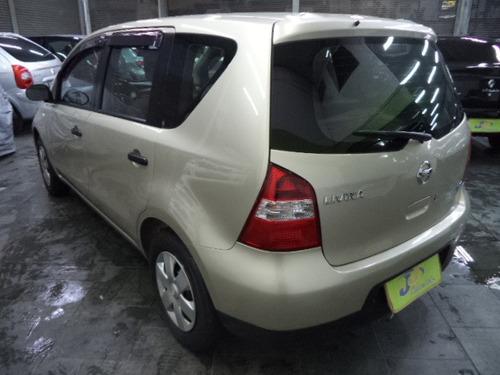 nissan livina 1.8 s flex aut. 5p completo 2010 dourado