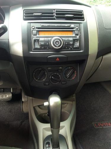 nissan livina 1.8 s flex automático 2010 + couro