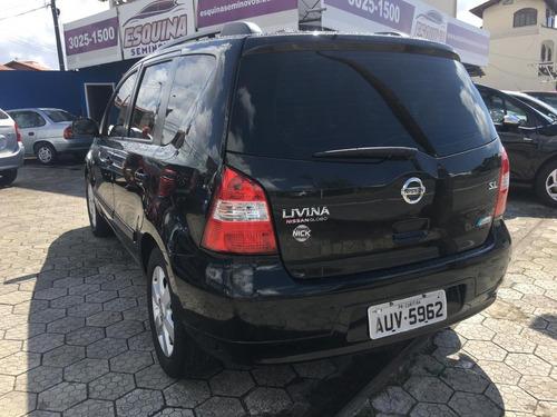 nissan livina 1.8 sl 16v flex 4p automático 2011/2012