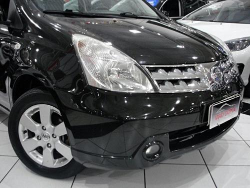 nissan livina 1.8 sl flex aut. 2012 completo + couro/rodas