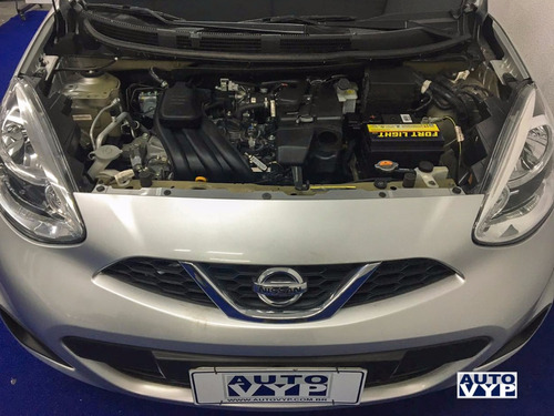 nissan march 1.0 12v s 2017