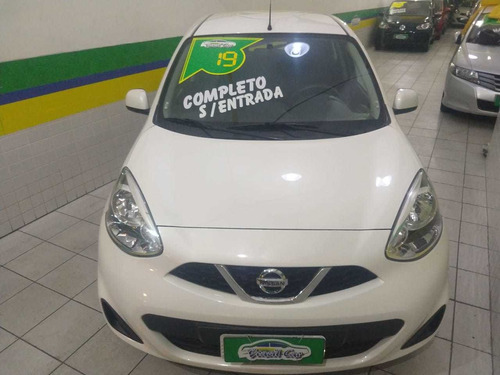 nissan march 1.0 12v s 5p 2019 completo