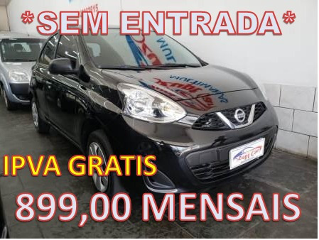 nissan march 1.0 12v s 5p aplicativos uber