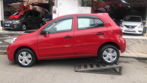 nissan march 1.0 mt completo 2016.
