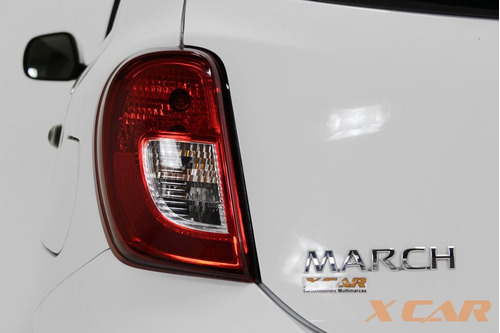 nissan march 1.0 s 12v flex 4p manual zero de entrada