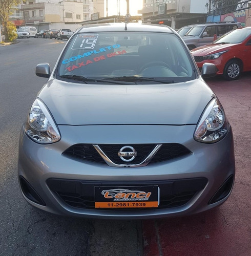 nissan march 1.0 s - 2019
