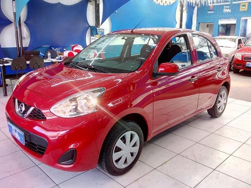 nissan march  1.0 s (flex) -  sem entrada 48x de 1.151,00