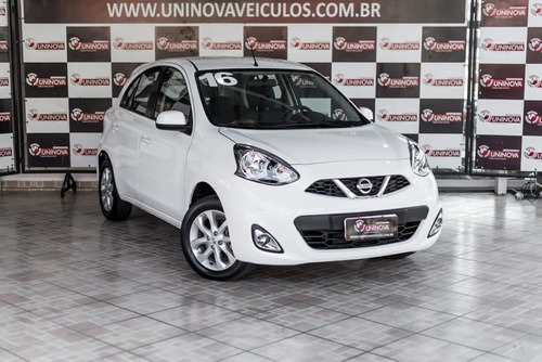 nissan march 1.0 sv 2017