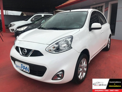 nissan march 1.0 sv completo