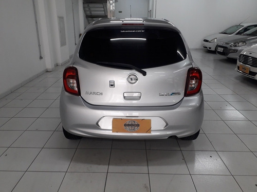 nissan march 1.6 16v sl aut. 5p 2018