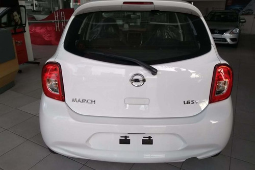 nissan march 1.6 16v sv aut. 5p