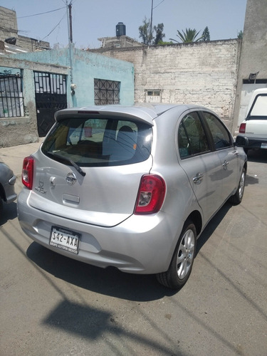 nissan march 1.6 advance navi mt 2015